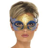 Maska z bleščicami Venetian Colombina